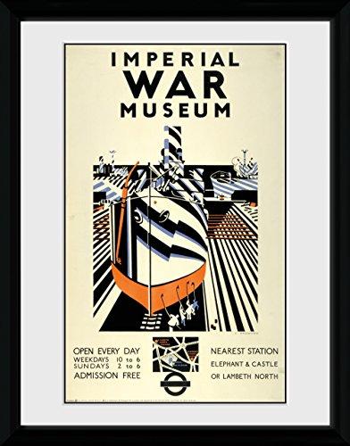 GB Eye Ltd Transport for London, Imperial War Museum, encadrée, 30 x 40 cm, Bois, différents, 52 x 44 x 3 cm