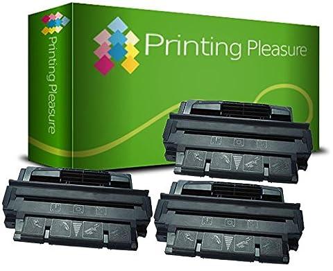 PRINTING PLEASURE 3 Toner kompatibel für HP Laserjet 4000 4000N 4000SE 4000T 4000TN 4050 4050N 4050SE 4050T 4050TN Canon LBP-1750 LBP-1760 LBP-1760E LBP-1760N P370 - Schwarz, hohe Kapazität