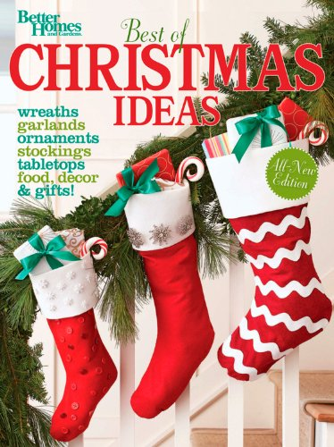 Best of Christmas Ideas (Better Homes and Gardens) (Better Homes & Gardens Crafts)