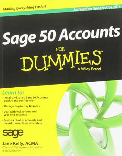 Sage 50 Accounts For Dummies 2014