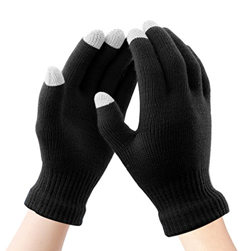 Touch Screen Gloves Knit Women - Digitek Touchscreen Gloves Ladies Mittens Winter Multifunctional Warm Gloves Girl for Outdoor Cycling Climbing Hiking