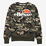 ellesse Sweater Herren SUCCISO Crew Sweat Camouflage Camo Print, Größe:M
