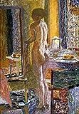 Kunstdruck/Poster: Pierre Bonnard Akt vor dem Spiegel - hochwertiger Druck, Bild, Kunstposter, 55x80 cm