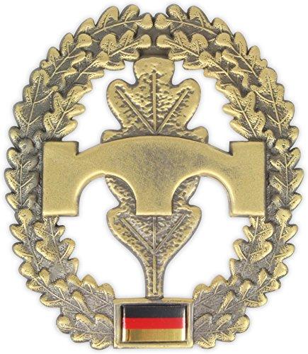 Original Bundeswehr Barettabzeichen aus Metall in verschiedenen Sorten zur Auswahl Farbe Pioniere
