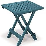 Table en plastique Adige - 45 cm x 43 cm x 50 cm Différents coloris. Vert