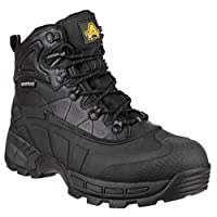 Amblers FS430 Orca S3 Waterproof Safety Work Boots Black 6-12 Lightweight (UK 9)