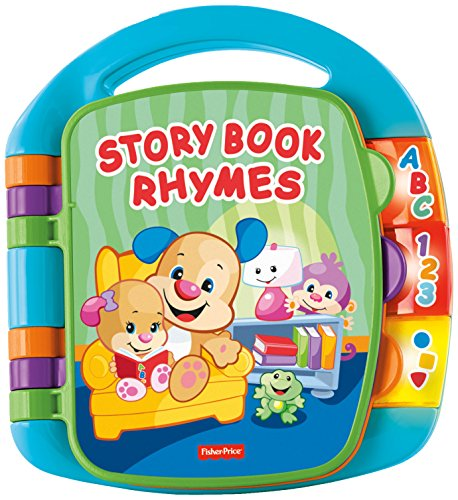 Image of Fisher-Price Laugh and Learn Storybook Rhymes Book