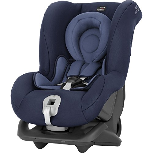 Britax Römer First Class Plus, Autositz Gruppe 0+/1 (Geburt -18 kg), Kollektion 2019, moonlight blue