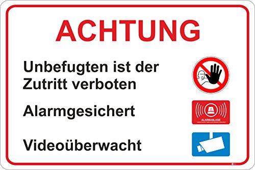 hinweisschild-zutritt-fur-unbefugte-verboten-isecur-art-hin-198-30x20cm-alarmgesichert-hinweis-auf-v