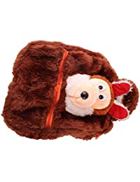 JBB Original Cute Teddy Soft Toy School Bag For Kids, Travelling Bag, Carry Bag, Picnic Bag, Teddy Bag (Micky...