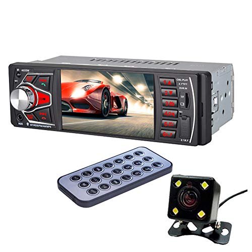 Auto Stereo Bluetooth MP5 Player, 1 Single Din Digital Multimedia Player Car Radio mit 7 Zoll Retractable Touch Screen Support BT, FM/. AM Radio