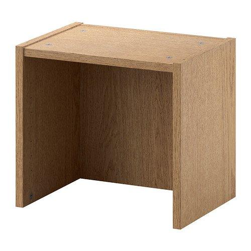 IKEA BILLY - Höhe Erweiterungseinheit, Eiche furniert - 40x28x35 cm