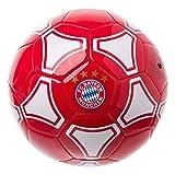 FC Bayern München Fußball, Ball rot/weiß, Größe 5