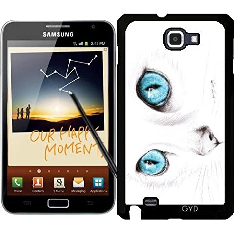 Coque pour Samsung Galaxy Note GT-N7000 (I9220) - Je Te Vois by eDrawings38