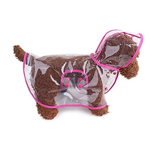 OULII Mascota Perro Impermeables Chubasqueros - Tamaño S