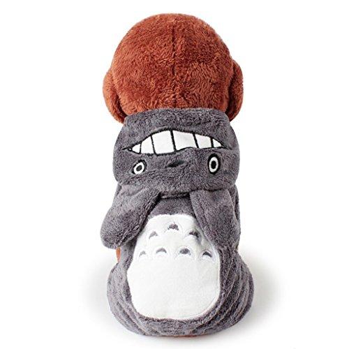 haustier hund katze hund outfit mantel kleider - kalter winter einen kostüm - hunde (Kostüm Hund Muster Ohren Die)