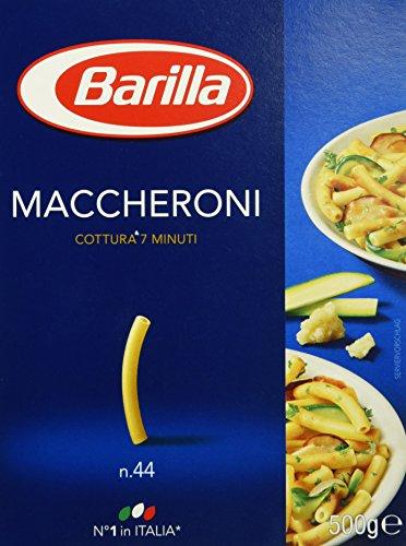 Barilla Pasta Nudeln Maccheroni n. 44, 500 g
