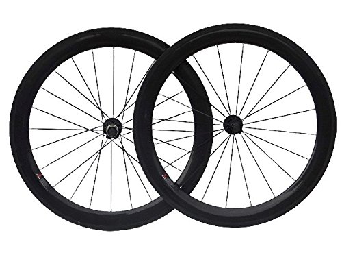 3 K carbon road bike Clincher wheelset 60 mm for bicycle wheel Hub tires