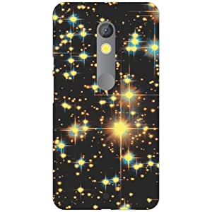 Printland Printed Hard Plastic Back Cover for Moto X Play -Multicolor