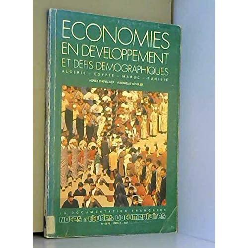 Economie en developpement et défis demographiques ( notes et études documentaires 4878 )  1989022796