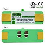 Lithium Power UL&CE Certified - Lithium Roomba Replacement Battery for iRobot Roomba 500, 600, 700, 800, 980 Series and Scooba 450, 4400 mAh