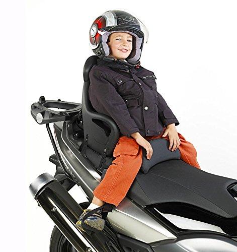 Motorrad Kindersitz Kawasaki ZR-7 Givi S650 schwarz