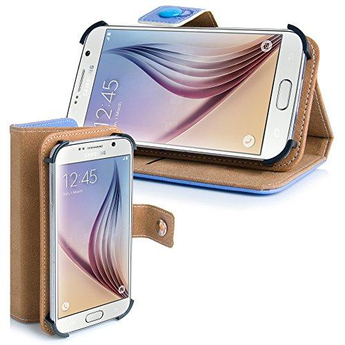 Apple iPhone 5 / 5s Handytasche mit Standfunktion , Geldfach und Gurthalterung einsame Eule