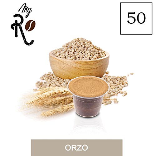 50 Kaffeekapselmaschine Kaffee geschmack Malzkaffee vereinbar für alle Nespresso Maschinen - 50 Nespresso kompatible kaffeekapseln- MyRistretto
