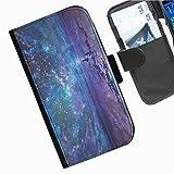 Hairyworm- Universum Seiten Leder-Schützhülle für das Handy Blackberry Passport