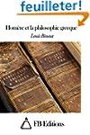 Hom�re et la philosophie grecque