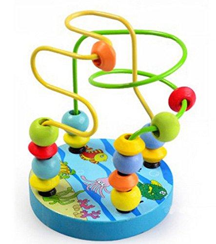 (CAOLATOR Motorikschleife Roller Coaster geeignet Kinder pädagogisches Spielzeug)