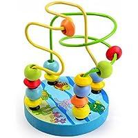 Kentop motricidad Juguete Bead Maze Abakus Perlas Labyrinth pädago gisches Juguete Cubo Juguete Abakus Parte Niños Baby NOU Juego Juguete para el Aprendizaje para niños