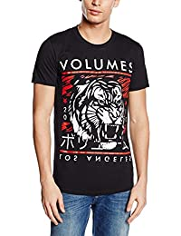 Plastic Head Volumes Tiger - T-shirt - Col montant - Manches courtes - Homme