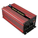 EnRise Power Inverter Onda Sinusoidale Modificata 3000W Picco 6000W Trasformatore di Potenza Convertitore DC 12V a 220V 230V AC Invertitore di Tensione con Porte USB