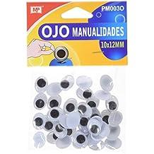 MP PM003O - Set de ojos móviles ovalados, ...