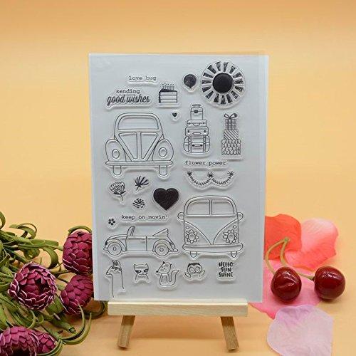 Voller Freude HOME Lovely Day DIY Gummi CLEAR STAMP für Karte machen Dekoration und Scrapbooking