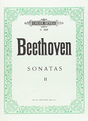 Sonatas Vol.II (17-32) por Ludwig van Beethoven