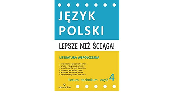 Amazonfr Lepsze Niz Sciaga Jezyk Polski Liceum I