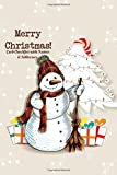 Merry Christmas Card Checklist With Names And Addresses: Holiday Shopping Tracker Diary Notebook Log Book To Track Seasons Greeting Messages Sent And Received (Festive Seasonal Gift)
