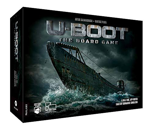 Phalanx Games PPHA07 U-Boot The Board Game, Mixed Colours