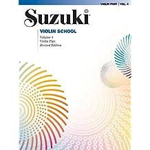 Suzuki Violin School: Violin Part: 4