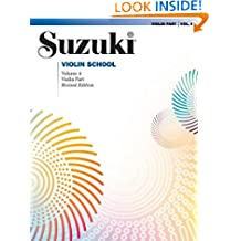 Suzuki Violin School: Violin Part: 4 (The Suzuki Method Core Materials)