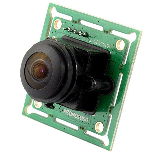ELP Weitwinkel 170 Grad fisheye MJPEG 60fps 640x480 Video USB Computer Kamera Modul für Windows -