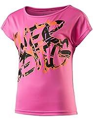 Energetics Zesila–Camiseta de Zarita II juvenil–Naranja, todo el año, infantil, color rosa, tamaño 176