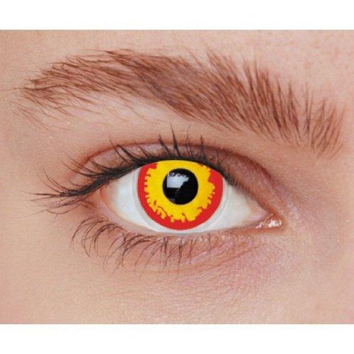 Fantasievoller Kontaktlinsen Teufel Vulkan Wolf GAROU (ohne Stärke)