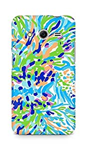 Amez designer printed 3d premium high quality back case cover for Samsung Galaxy Core 2 (Sea Soiree Print)