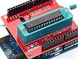 Arduino Uno r3ZIF Sockel Programmierer Shield