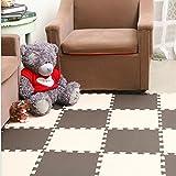 E Support™ 30x30x1cm bebé que entrelaza la espuma de EVA rompecabezas del piso de la estera del juego de arrastre de la estera del juego de niños
