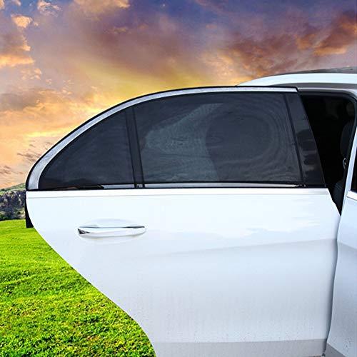 FDSEA Parasole Auto, Parabrezza Nero coibentato finestrino Laterale Tetto apribile Copri Pellicola Protettiva - Blocco UV Universale,51 * 46CMfrontwindow