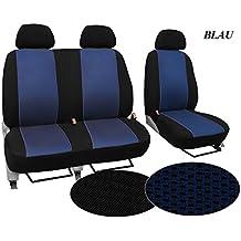 POK-TER-TUNING Bus Alikante GT mit Kunstleder Set Bus 1+1 in Diesem Angebot Grau. Autositzbez/üge,Super Qualit/ät Bez/üge Passend f/ür T3